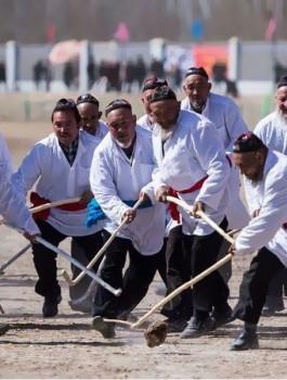 """""""Чумак"""" - уйгурский хоккей"""